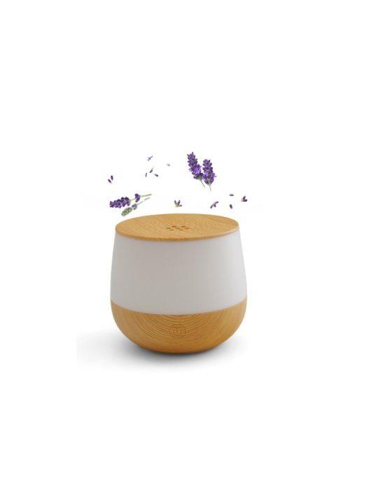 Airbi Lotus aroma diffúzor /Világos fa/