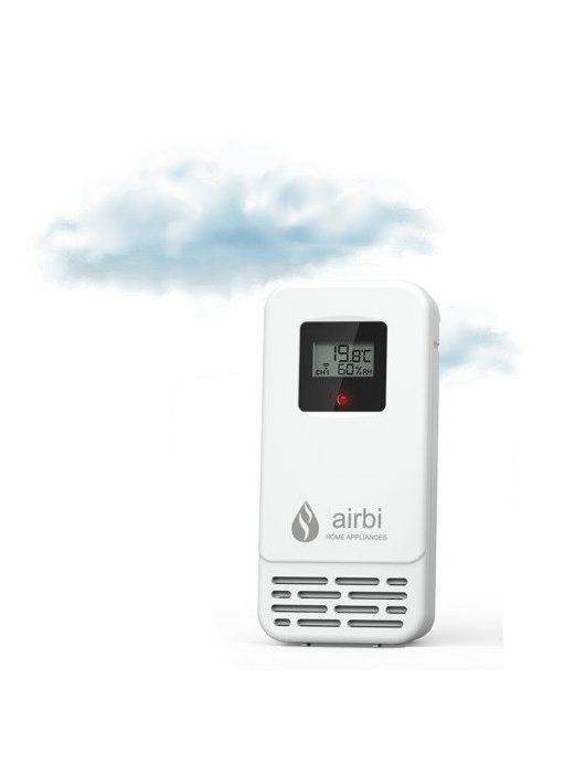 Airbi SENSOR vezeték nélküli páratartalom- és hőmérséklet mérő egység