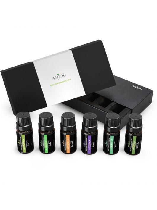 Anjou (AJ-ES001) 6-féle illat, illóolaj csomag, 6x10ml