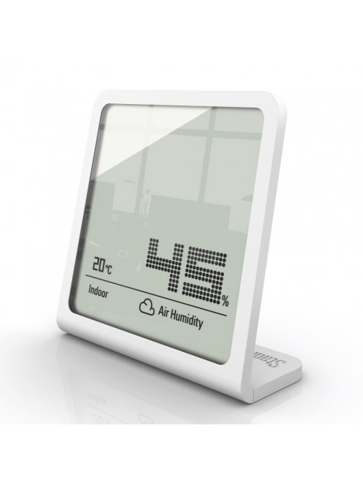 Stadler Form SELINA páratartalom mérő órával /Fehér/