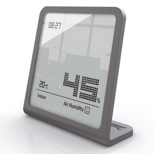Stadler Form SELINA páratartalom mérő órával /Titánium/