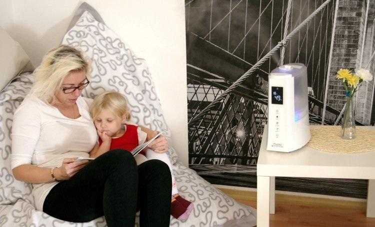 Optimális hőmérséklet és páratartalom a lakásban