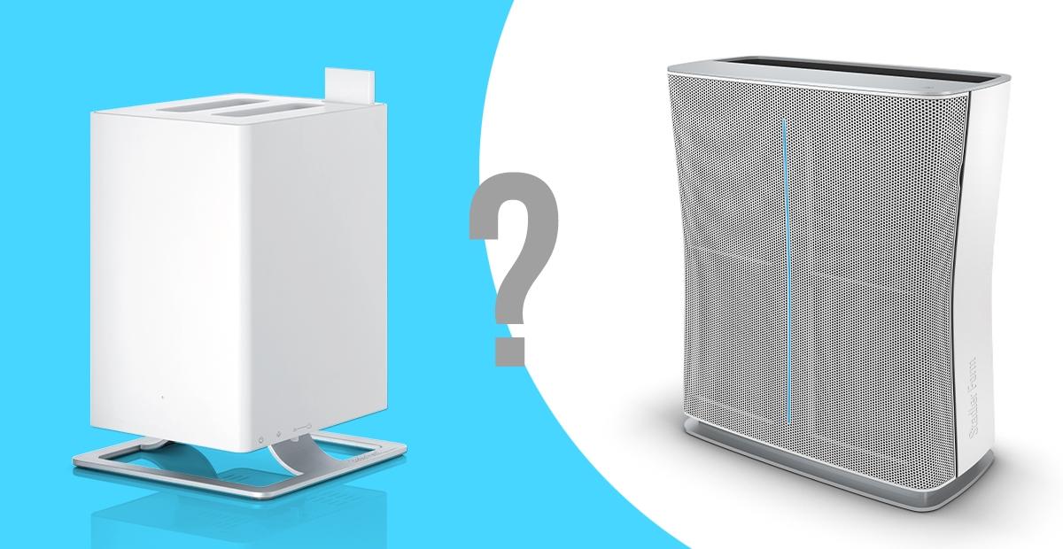 Légtisztítók VS párásítók - különbségek röviden