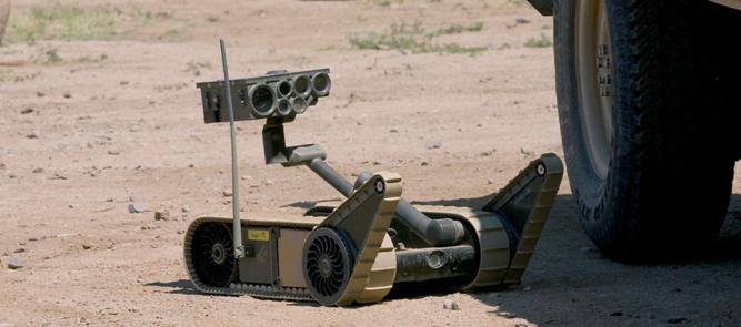 Érdekesség - professzionális robotok az iRobottól